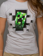 Creeper Inside T Shirt Womens