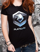 Starcraft 2 Platinum T Shirt