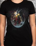 Skeleton King Womens T Shirt