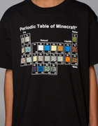 Minecraft Periodic Table Tee