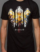 Diablo 3 Stained Glass Tee