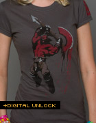 DOTA 2 Womens T Shirt - Axe