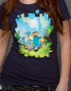 Minecraft Adventure T Shirt - Womens